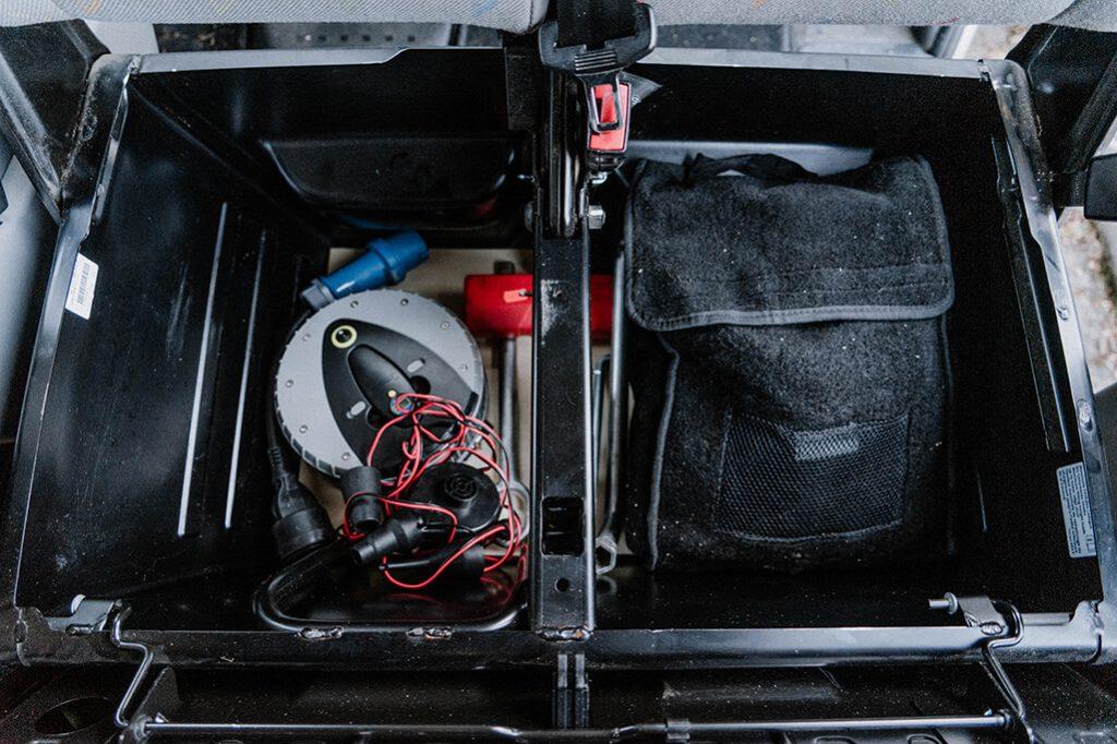 Doppelsitzbank VW T5 Lagerfläche