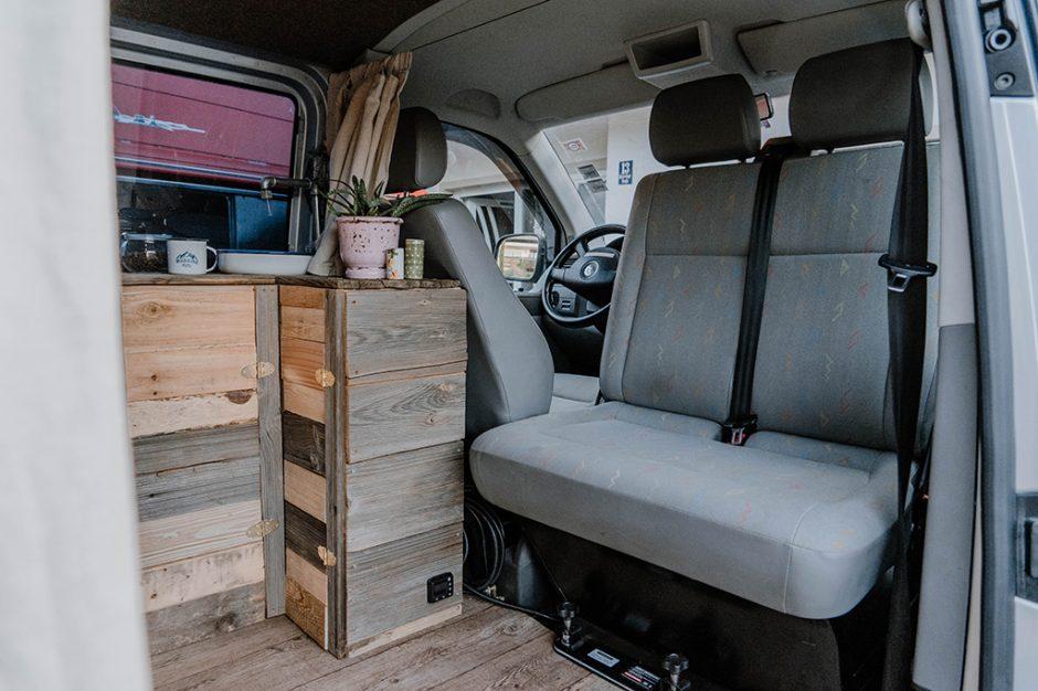 Drehkonsole Doppelsitzbank VW T5 T6