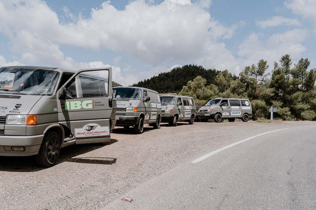 Dust and Diesel Richtung Marrakech