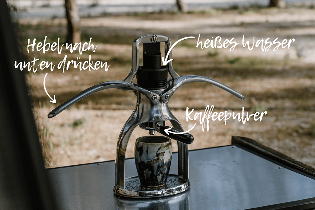 Espresso kochen ohne Strom