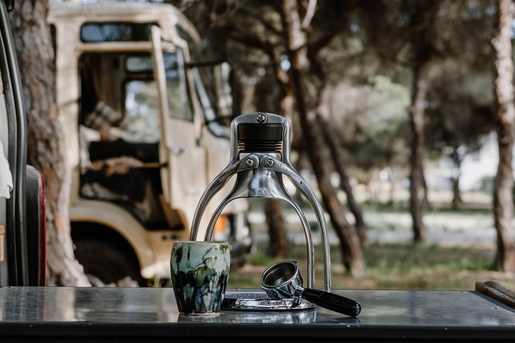 Espressomaschine Camping
