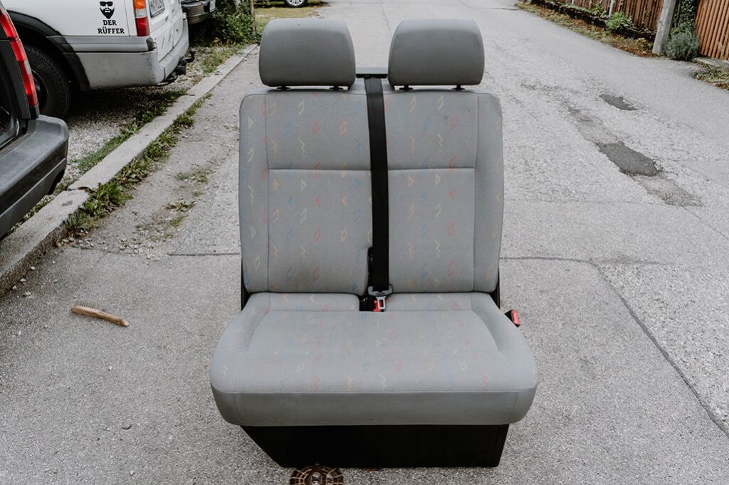 VW T5 Beifahrer Doppelsitzbank