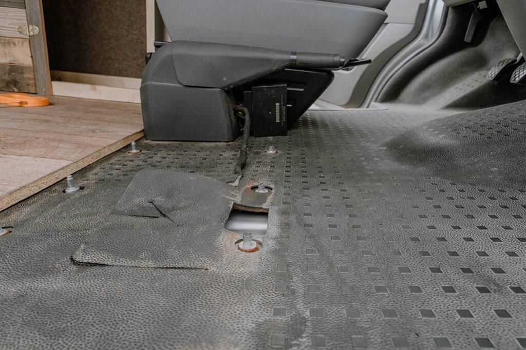 VW T5 Drehkonsole Verzug Steuermodul
