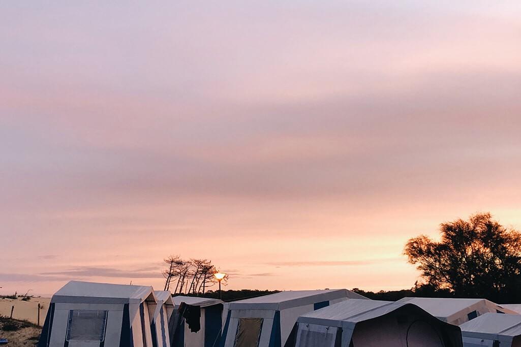 Camping Achtsamkeit Zelte