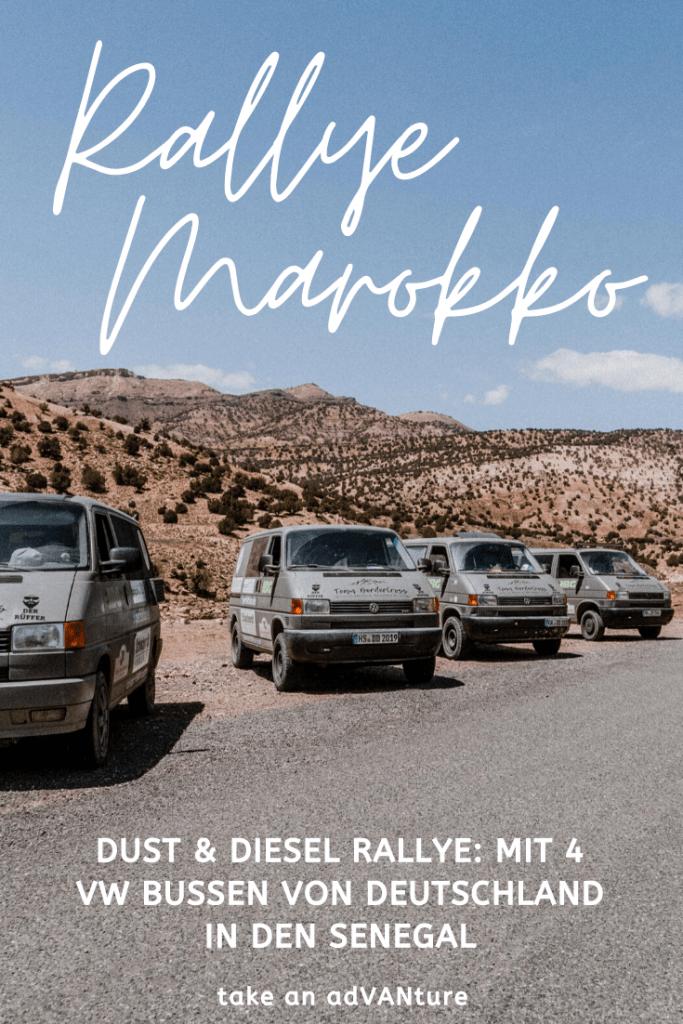 Dust & Diesel Rallye #2: Kreuz der Quere durch Marokko.