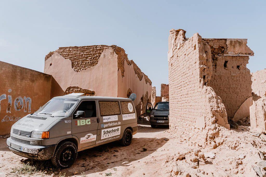 Ruine in Marokko