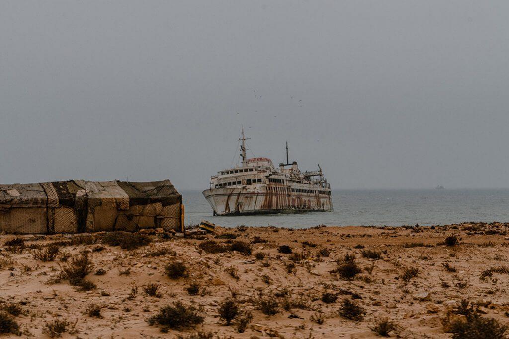 Schiffswrack Assalama