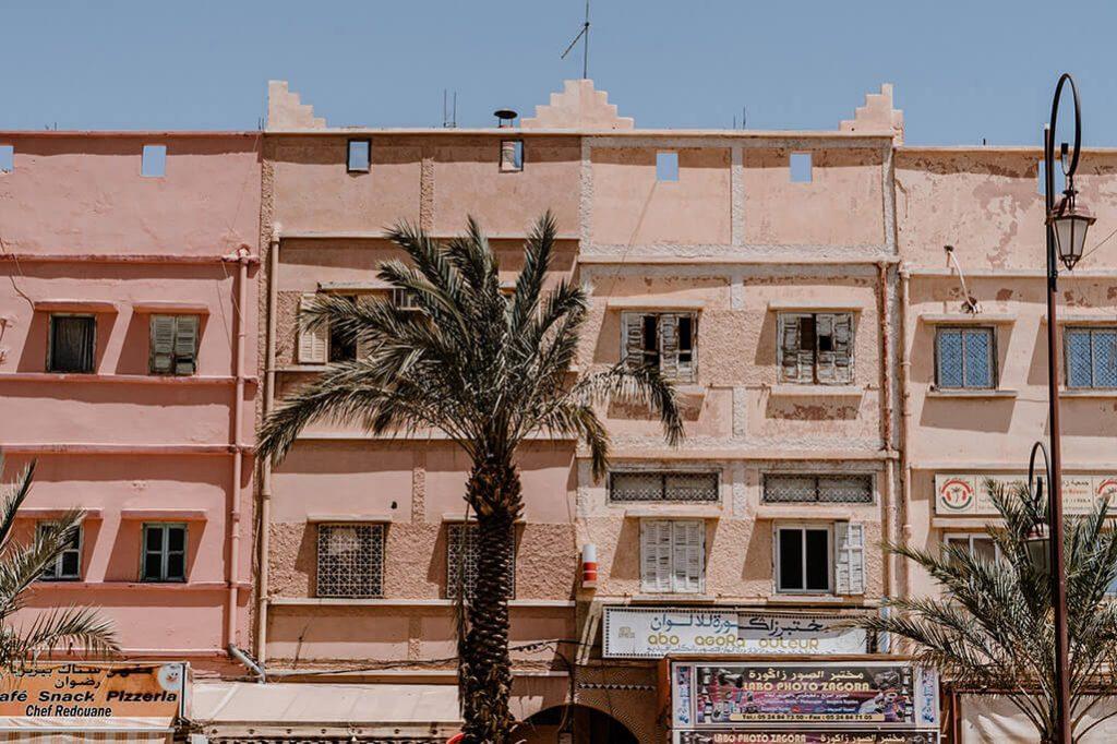 Zagora im Draa Tal in Marokko