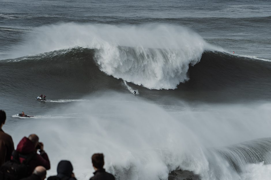 Nazare Big Wave Tow Surfing Challenge