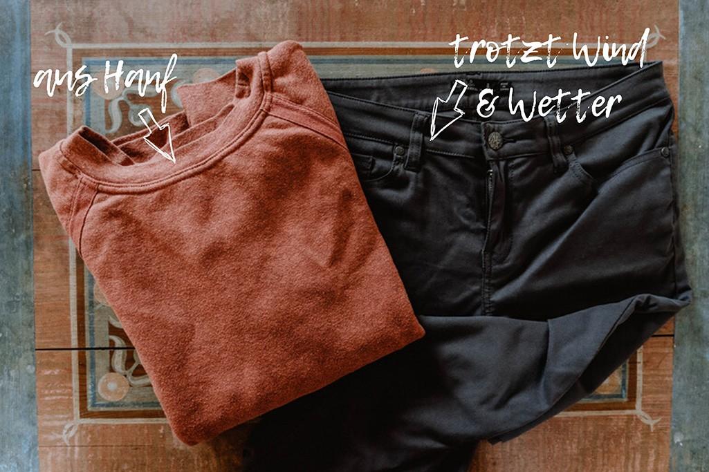 nachhaltige Kleidung der Marke PrAna