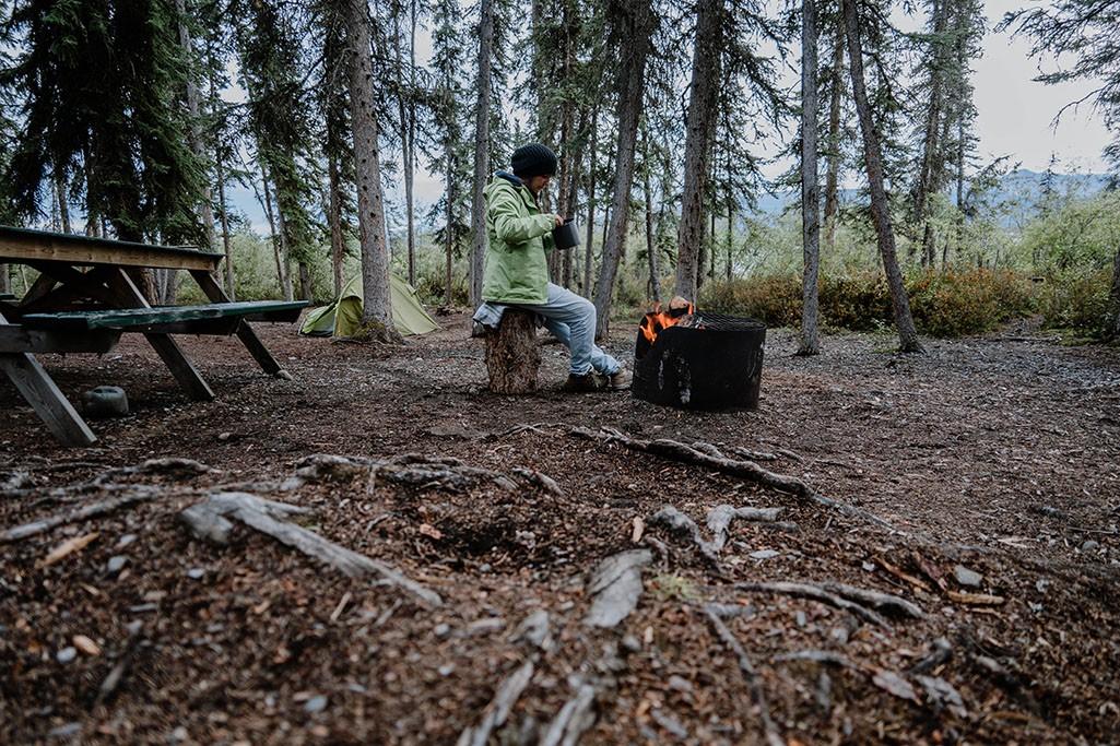 nachhaltige Kleidung bei Roadtrips Outdoor Camping