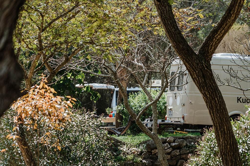 Campingplatz Algarve in der Natur