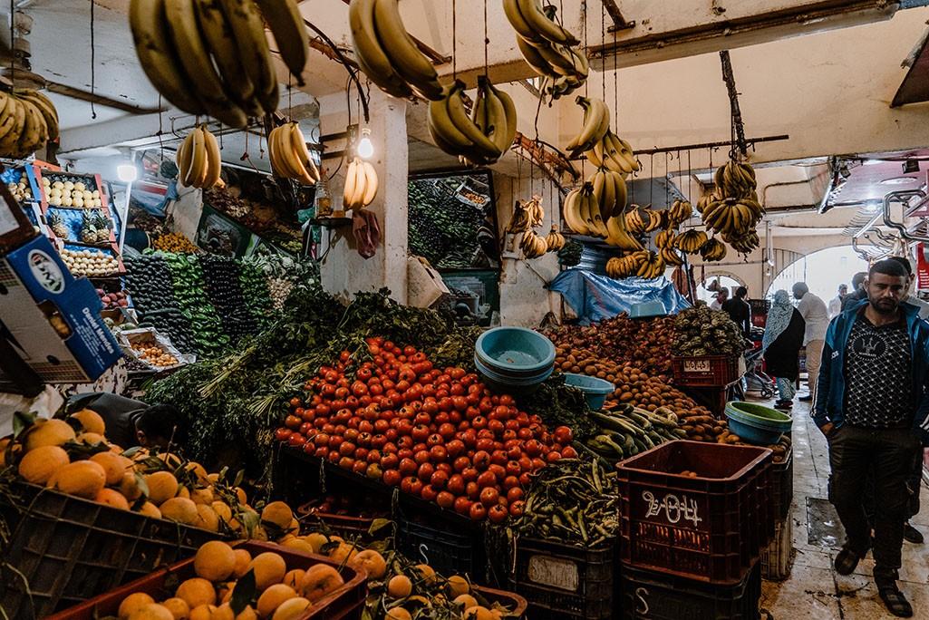 Markt in der Westsahara in Dakhla