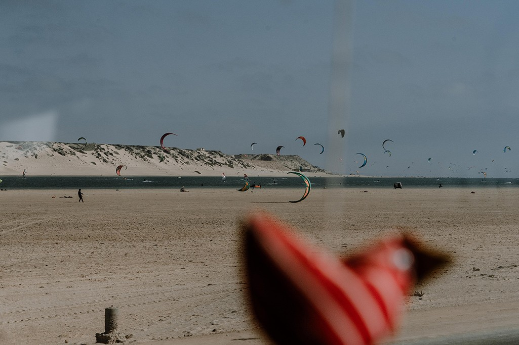 Kite Surfer in Dakhla