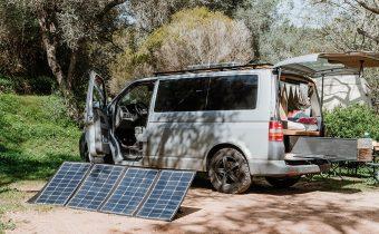 VW Bus faltbares Solarpanel