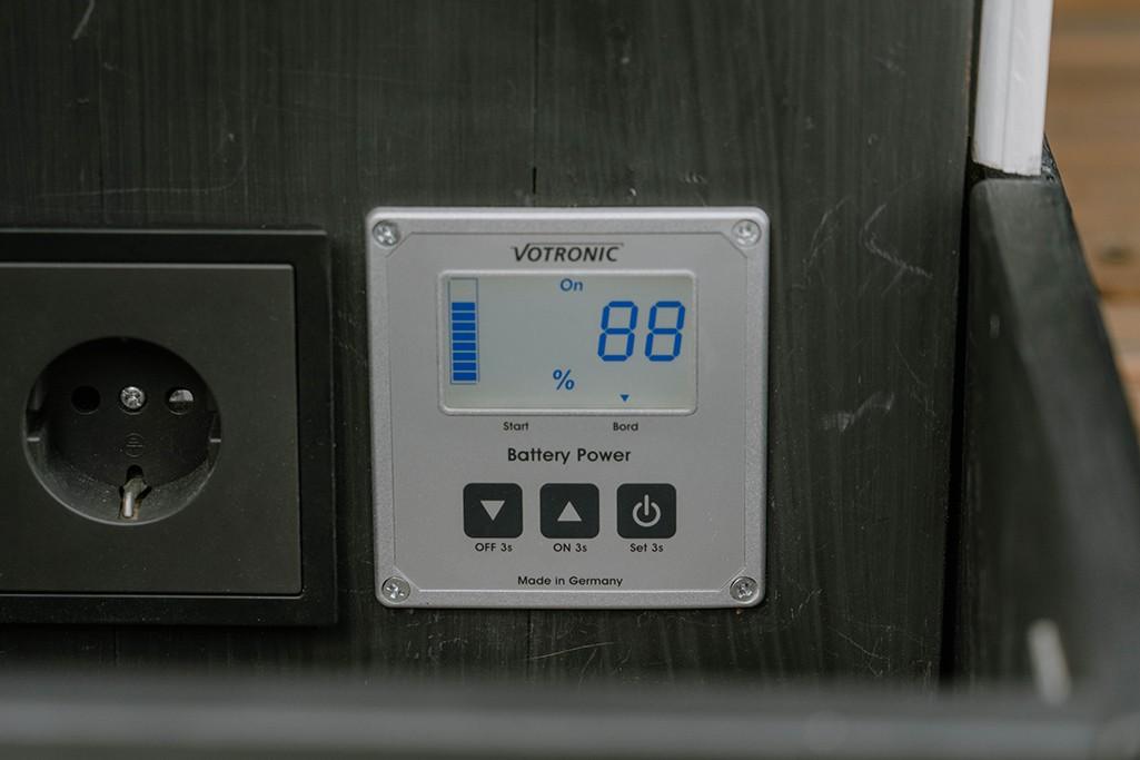 Campervan Elektrik Batteriecomputer