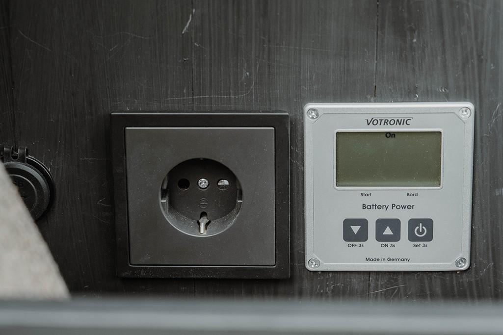 Selbsteinbau Steckdose Campervan Elektrik