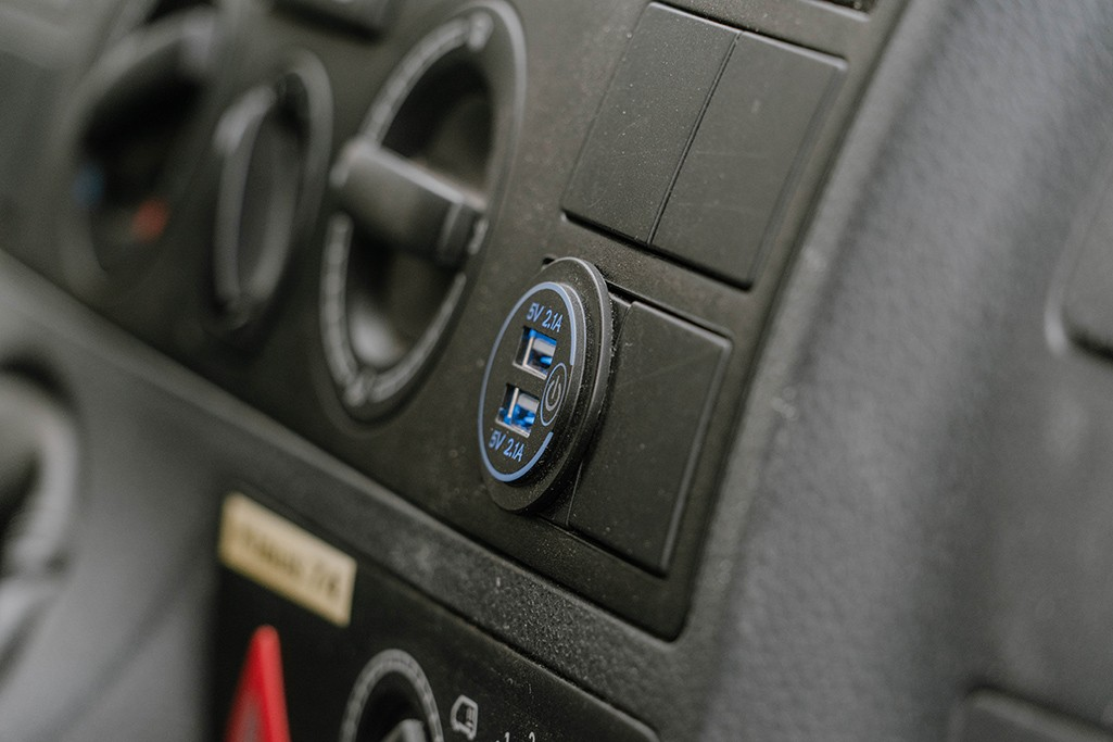 USB Steckdose Elektrik Camper