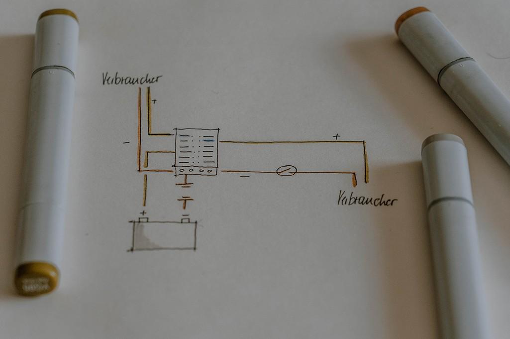 VW T5 Elektrik Sicherungshalter Grafik