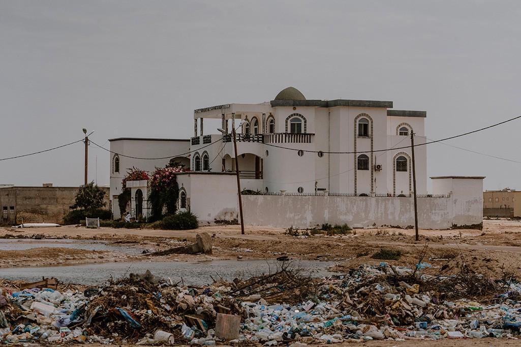 Mauretanien Haus in Nouakchott