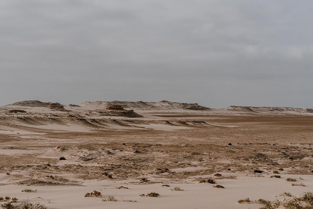 Wüstenlandschaft in Mauretanien