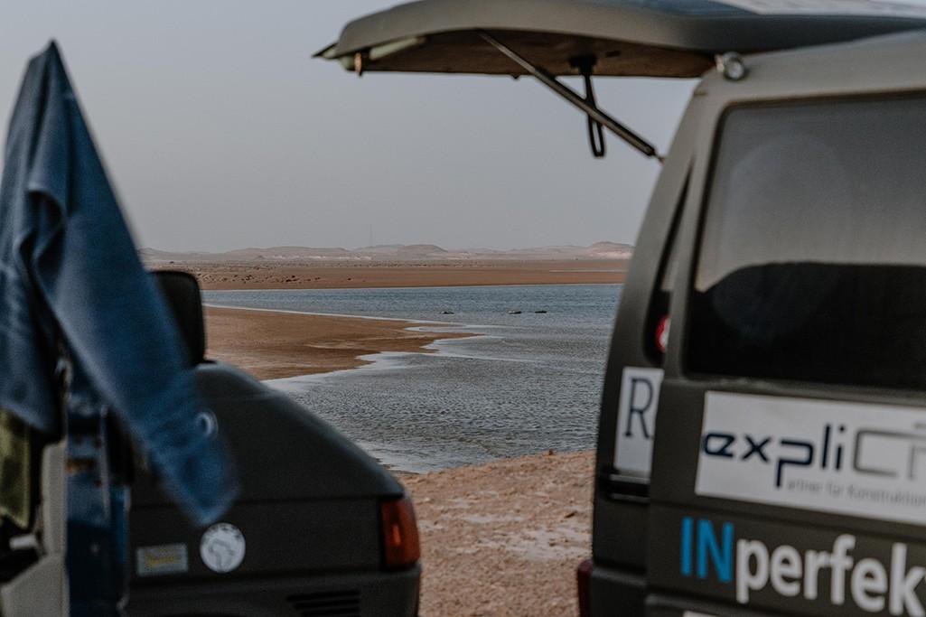 Meer bei Nouadhibou in Mauretanien