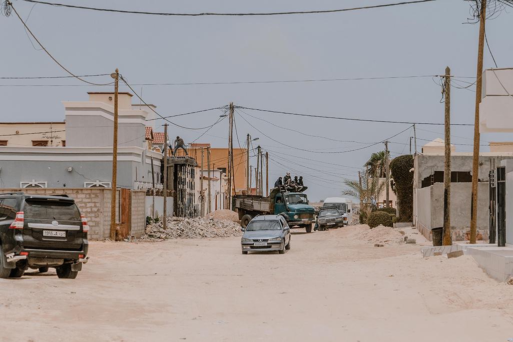 Mauretanien Nouakchott Seitenstraße