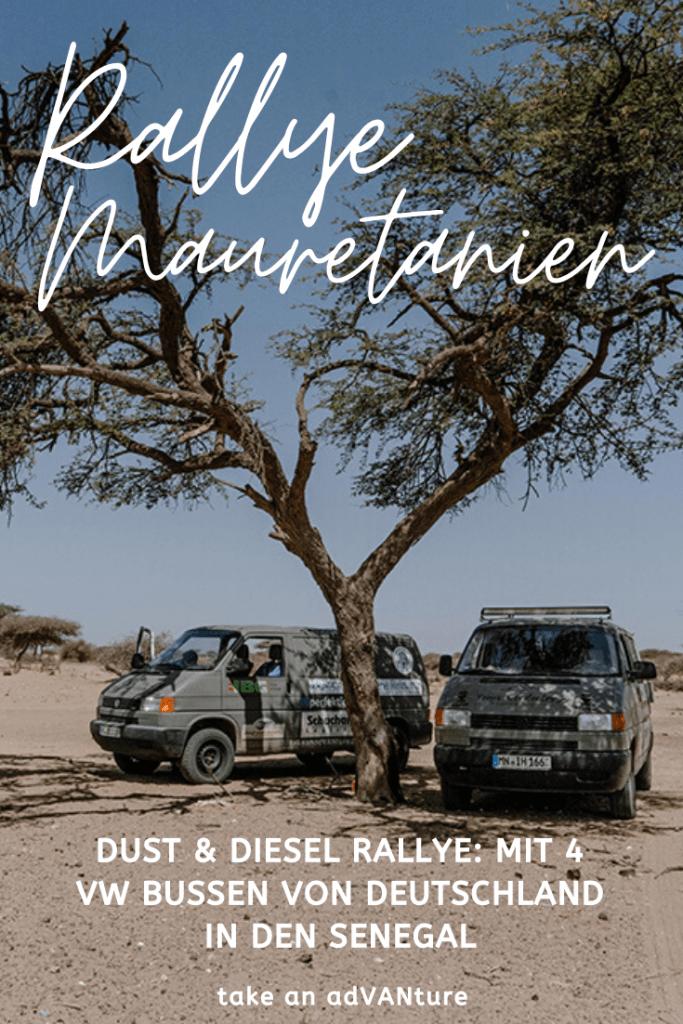 Dust & Diesel Rallye: Ein Roadtrip durch Mauretanien.