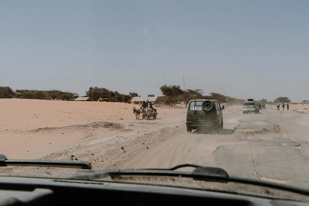 Roadtrip Mauretanien Richtung Senegal