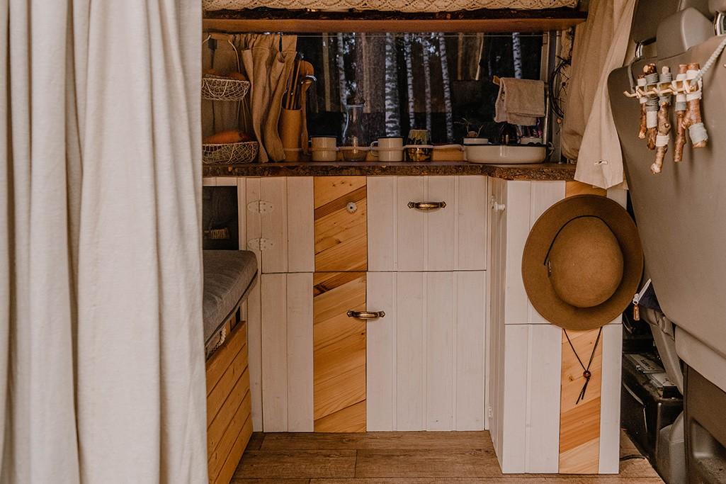 VW T5 Ausbau Campingküche selber bauen