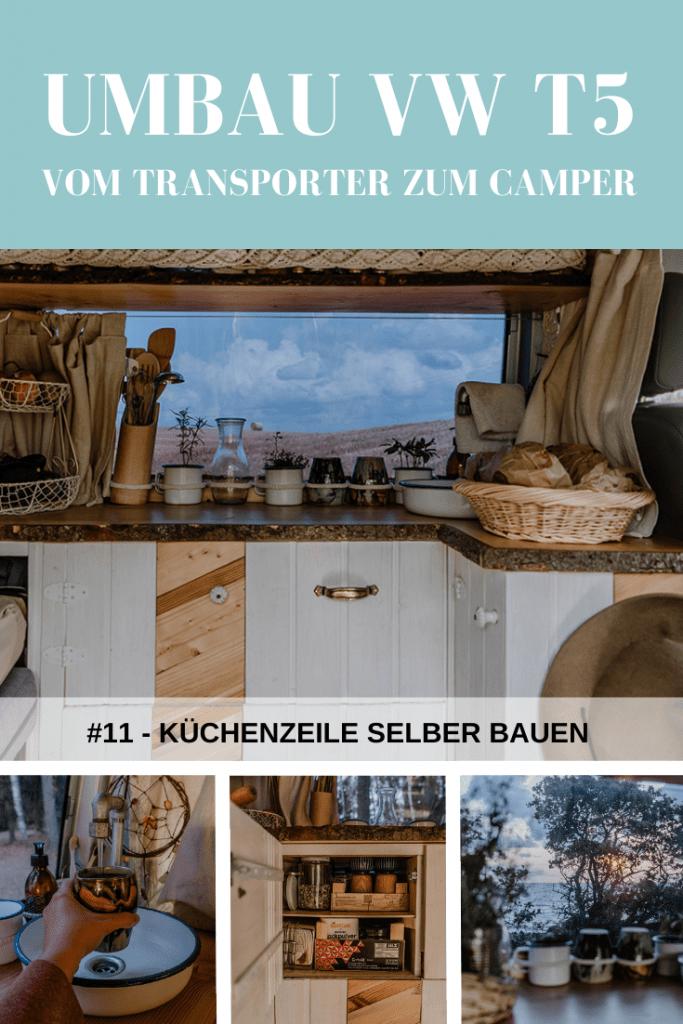 VW T5 Ausbau Küche