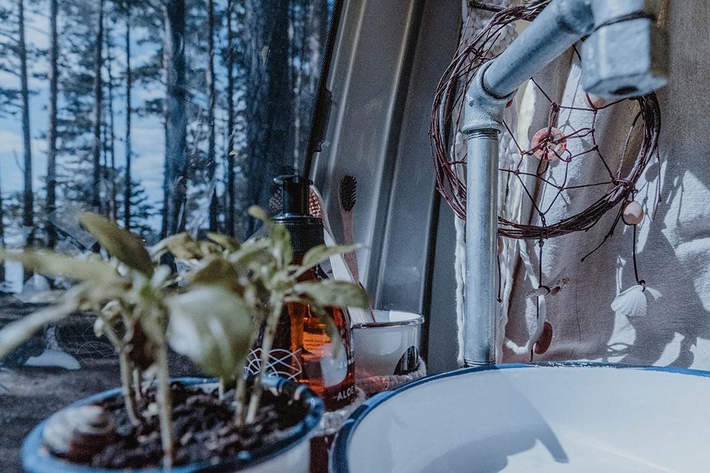 VW T5 Ausbau Küche Waschbecken